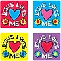Carson-Dellosa Jesus Loves Me Stickers