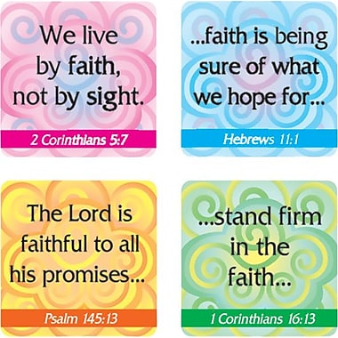 Carson-Dellosa Faith Verses Stickers