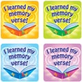 Carson-Dellosa I Learned My Memory Verse Stickers