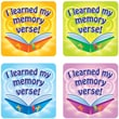 Carson-Dellosa I Learned My Memory Verse Stickers