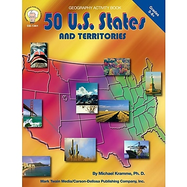 Mark Twain 50 U.S States and Territories Resource Book