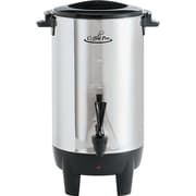 "Coffee Pro® 30 Cup Percolating Coffee Urn, 11""(Dia) x 15""(H), Stainless Steel"