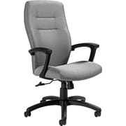 Global Synopsis™ 32% Polyester, 68% Olefin High Back Tilter Chair, Graphite