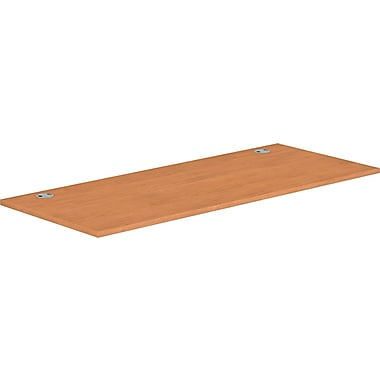 HON® Voi® Rectangular Worksurface, 72in.W x 20in.D, Harvest