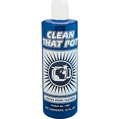 Clean That Pot Coffee Bowl Cleaner, Unscented, 12 oz. Bottle