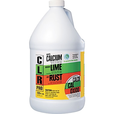 CLR  PRO Calcium, Lime And Rust Remover, Unscented, 128 oz.