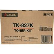 Kyocera Mita TK827K Black Toner Cartridge (DCKMC2520T)