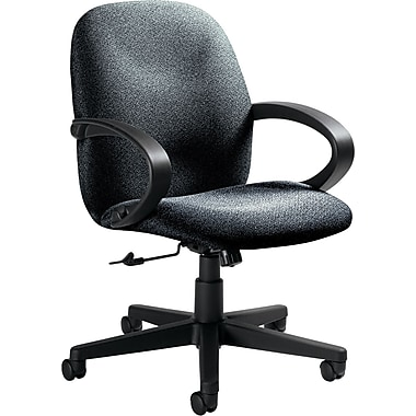 Global Enterprise® Low Back 100% Polypropylene Swivel/Tilt Chair, Stone