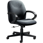 Global Enterprise® Low Back 100% Polypropylene Swivel/Tilt Chair, Stone