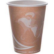 Eco-Products® Evolution World™ 24% PCF Hot Drink Cup, 8 oz., Peach, 50/Pack