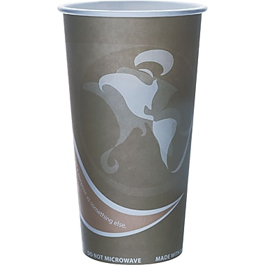 Eco-Products® Evolution World™ 24% PCF Hot Drink Cup, 20 oz., Gray, 50/Pack