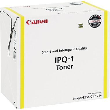Canon IPQ-1 Yellow Toner Cartridge (0400B003AA), Standard