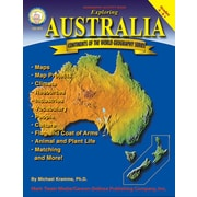 Mark Twain Exploring Australia Resource Book, Grades 4 - 8+