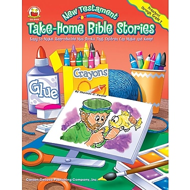 Carson-Dellosa New Testament Take-Home Bible Stories Resource Book