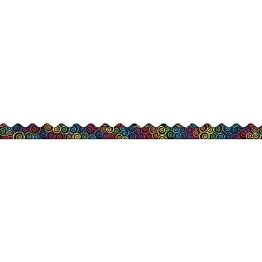 Carson-Dellosa Rainbow Swirls Borders