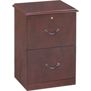 Z-Line Designs Wood Veneer 2-drawer Vertical File Cabinet, Cherry