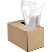 Fellowes High Security Shredder Bags,Clear, 50/roll