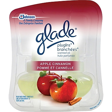 Glade® Glade PlugIns Scented Oil Refills, Apple Cinnamon, 2/Pack