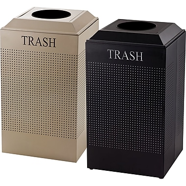 Rubbermaid® Designer Line Silhouette Trash Containers