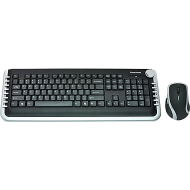 Gear Head 2.4 GHz Wireless Multimedia Desktop with Laser Scroll Mouse