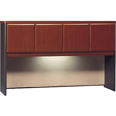 "Bush® Cubix Collection 60"" hutch, Hansen cherry"