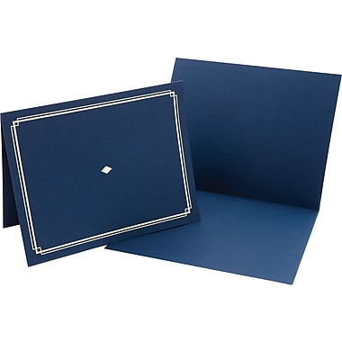 Award Certificate Holders, Blue/Gold