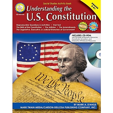 Mark Twain Understanding the U.S. Constitution Resource Book, 112 pages