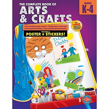 American Education The Complete Book of Arts and Crafts Workbook