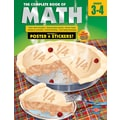 American Education The Complete Book of Math Workbook, Grades 3 - 4