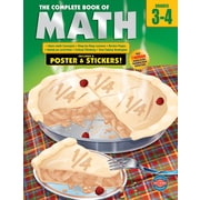 Thinking Kids 0769685617 Grade 3 - 4 The Complete Book of Math Workbook