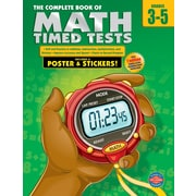 American Education The Complete Book of Math Timed Tests Workbook