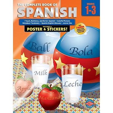 American Education The Complete Book of Spanish Workbook