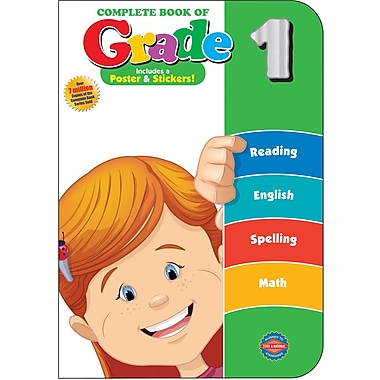 American Education The Complete Book of Grade 1 Workbook
