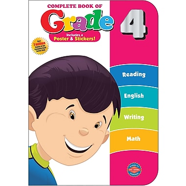 American Education The Complete Book of Grade 4 Workbook