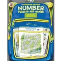 Frank Schaffer Number Puzzles and Games Workbook