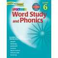 Spectrum Word Study and Phonics Workbook, Grade 6