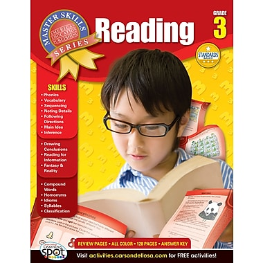 American Education Reading Workbook, Grade 3