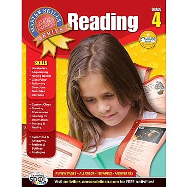 American Education Reading Workbook, Grade 4