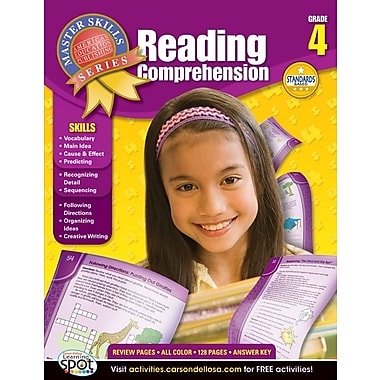 American Education Reading Comprehension Workbook, Grade 4