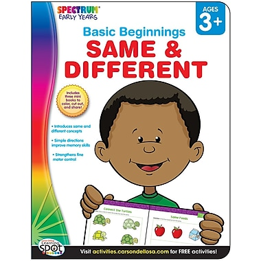Spectrum Same & Different Activity Book