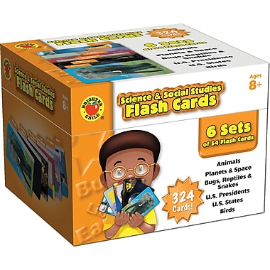 Brighter Child® Science & Social Studies Flash Cards