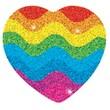 Carson-Dellosa Hearts Dazzle™ Stickers