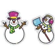 Carson-Dellosa Snowmen Dazzle™ Stickers