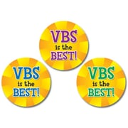Carson-Dellosa VBS Is the Best! Shape Stickers