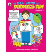 Carson-Dellosa The Big Book of Phonics Fun Resource Book