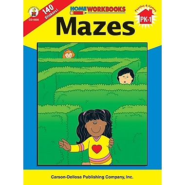 Carson-Dellosa Mazes Workbook