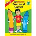 Carson-Dellosa Puzzles & Games Workbook, Grades K - 1