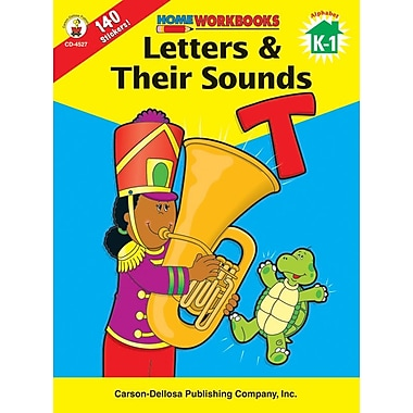 Carson-Dellosa Letters & Their Sounds Workbook
