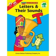 Carson-Dellosa Letters & Their Sounds Workbook