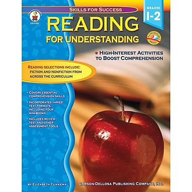 Carson-Dellosa Reading for Understanding Resource Book, Grades 1 - 2